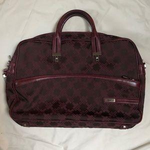 Tumi Signature Maroon Laptop Briefcase Bag